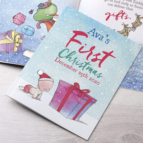 Letterfest book Personalised Baby First Christmas Childrens Book