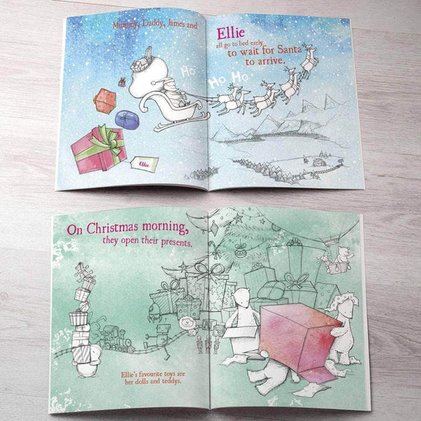 letterfest book Personalised Children's Christmas Book