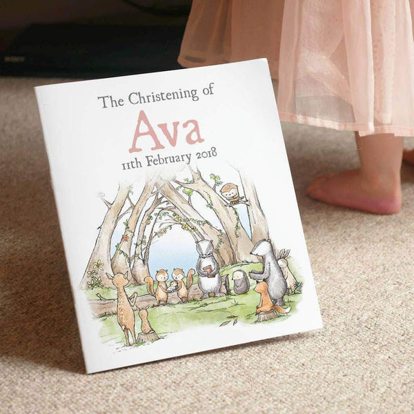 letterfest book Personalised Christening Story Book