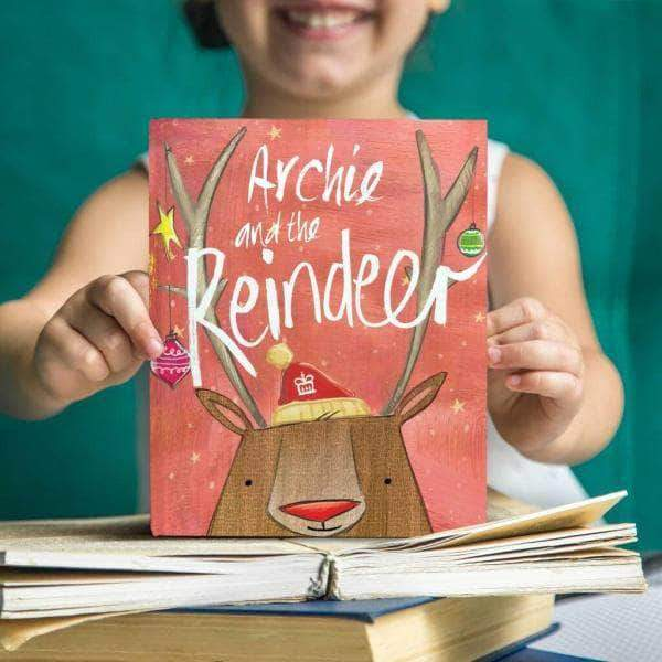 letterfest book Personalised Christmas Reindeer Story Book
