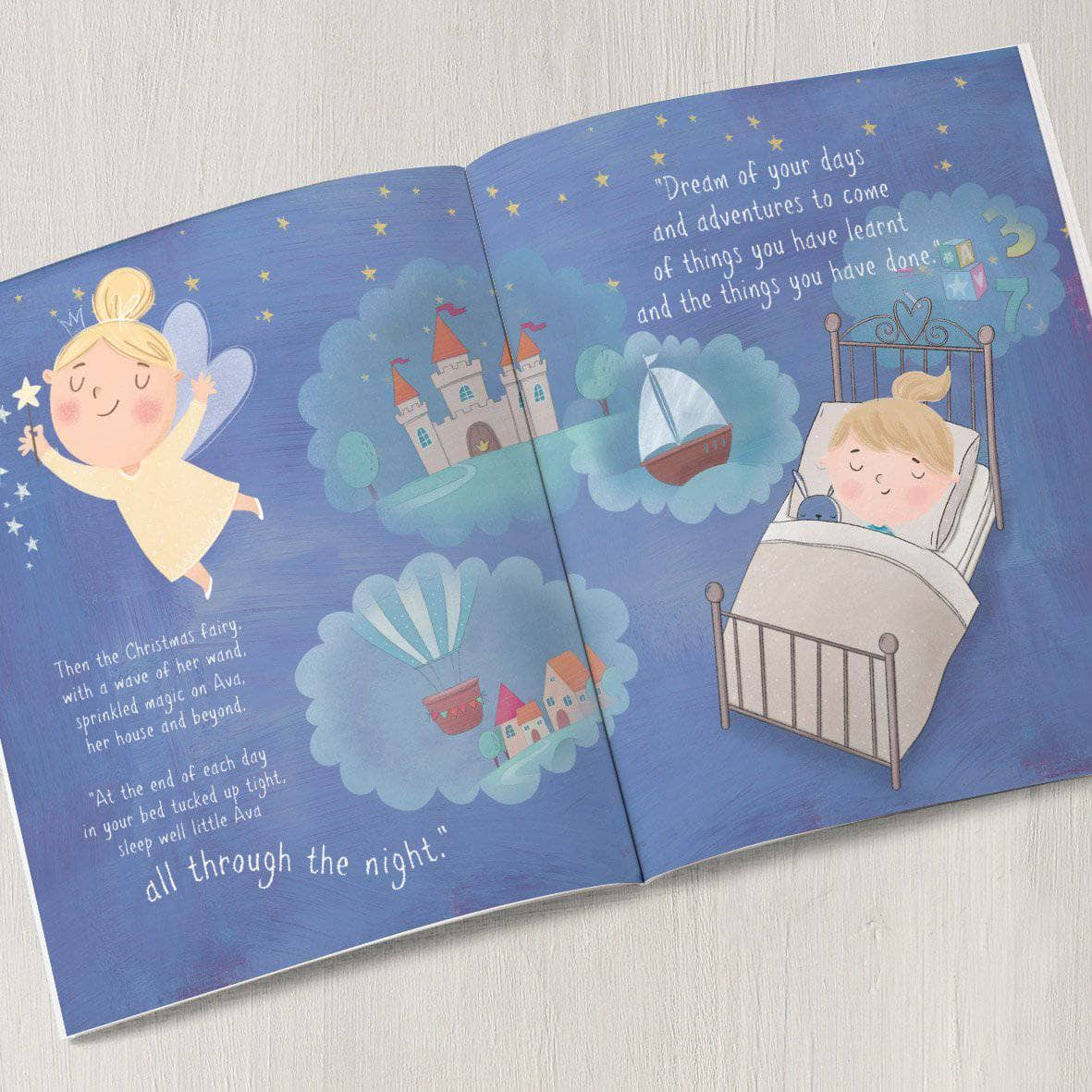 letterfest book Personalised Christmas Wish Story Book