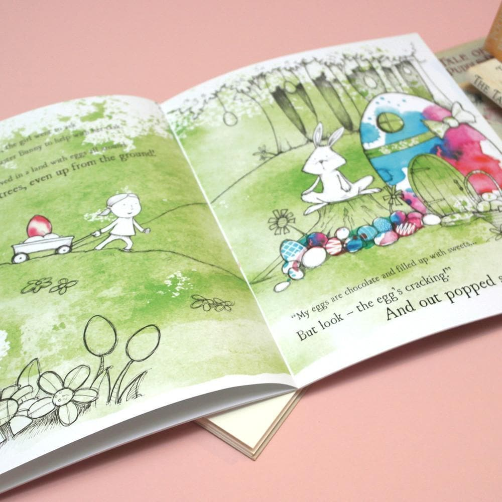 letterfest book Personalised Eggcellent Easter Adventure Book