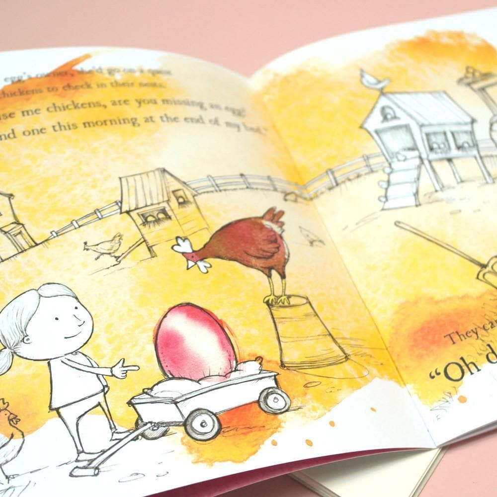 letterfest book Personalised Eggcellent Adventure Book