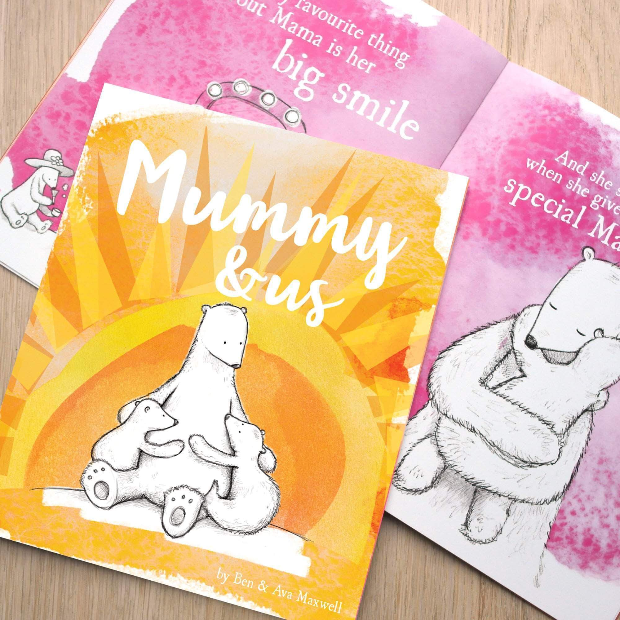 letterfest book Personalised Mummy and Me Story Book