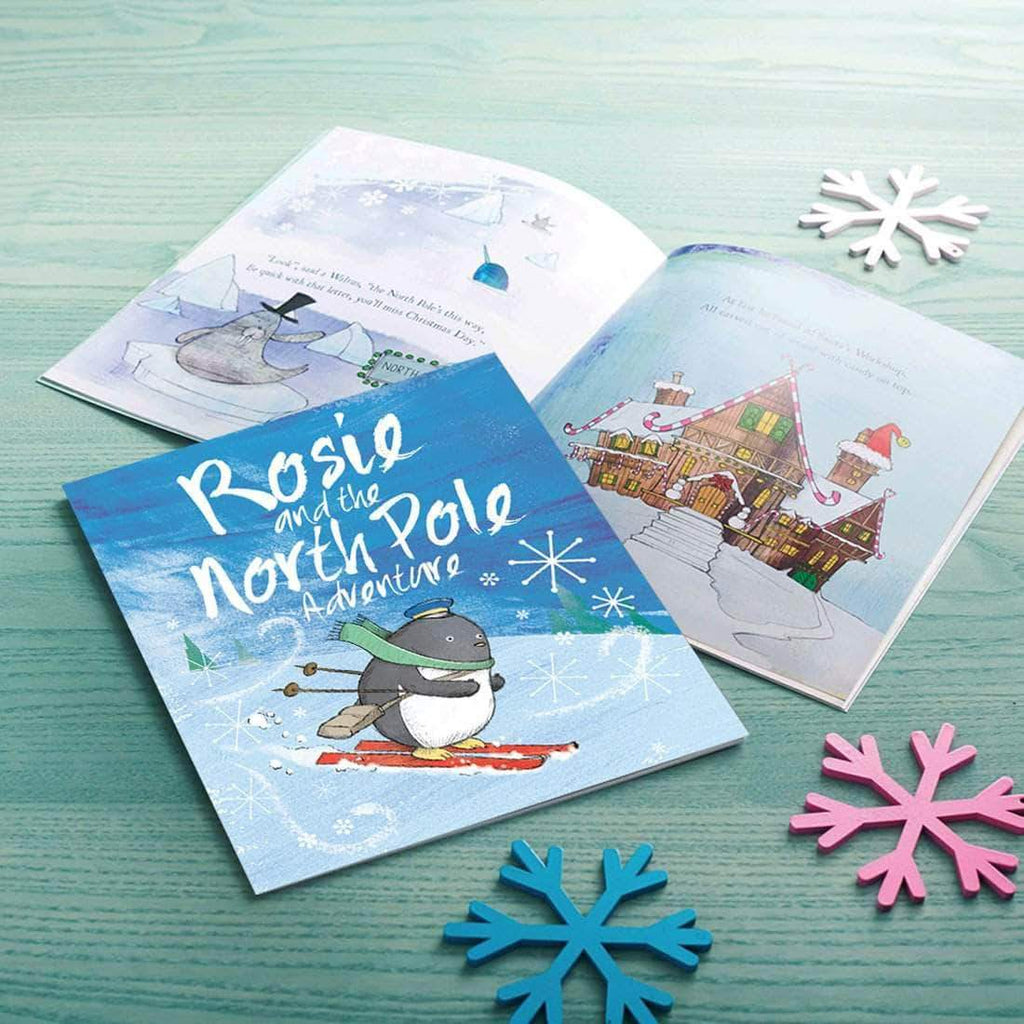 letterfest book Personalised North Pole Adventure Book