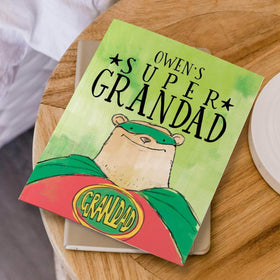 letterfest book Personalised Super Grandad Book