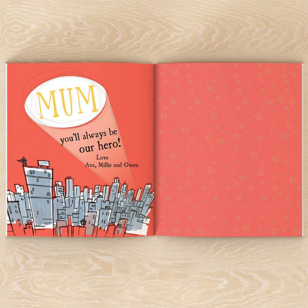 letterfest book Personalised Supermum Book
