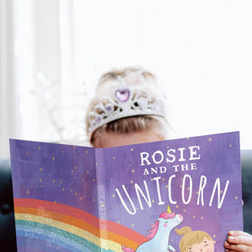 letterfest book Personalised Unicorn Book For Baby Or Child