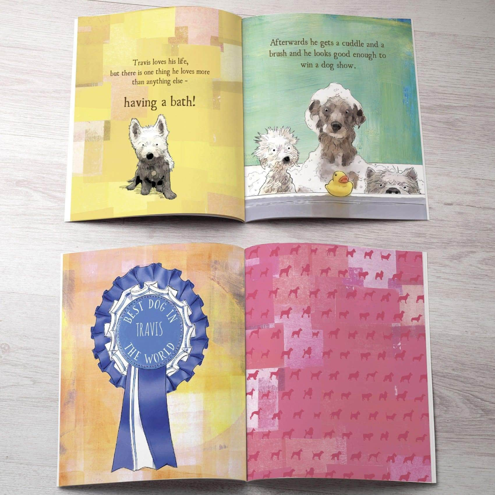 letterfest book Personalised Worlds Best Dog Story Book
