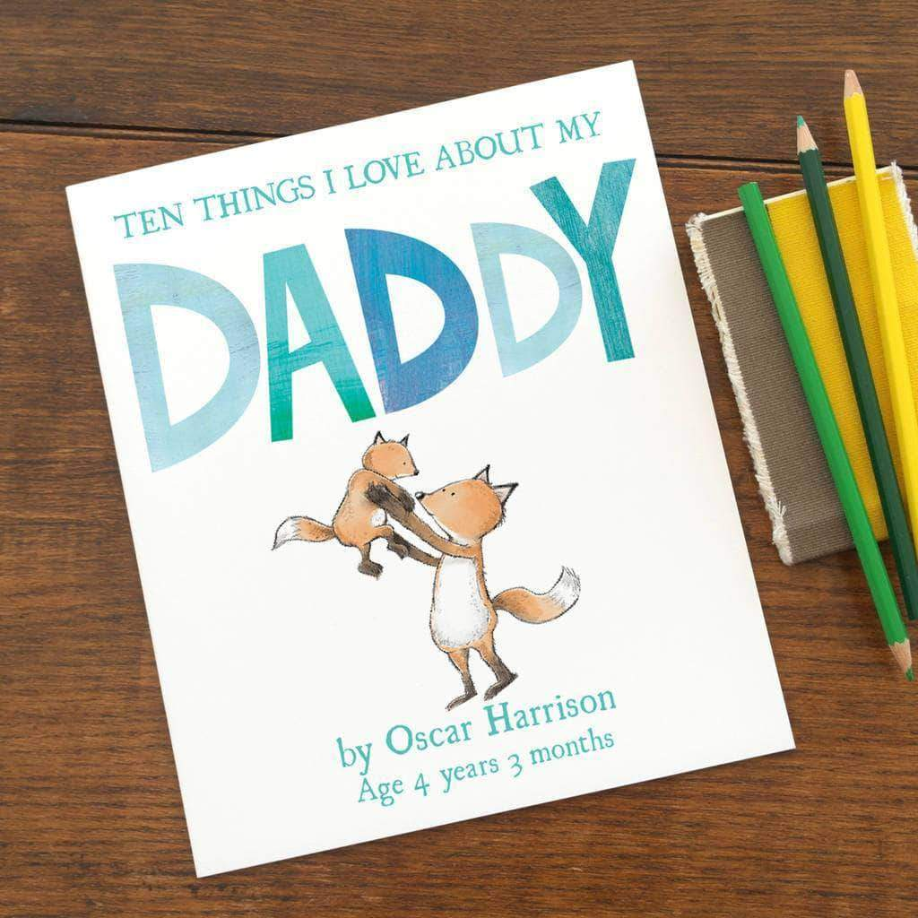 Letterfest book Reasons I Love Dad Children's Book