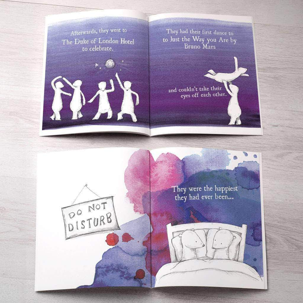 Letterfest book When Mummy Married Daddy Personalised Book