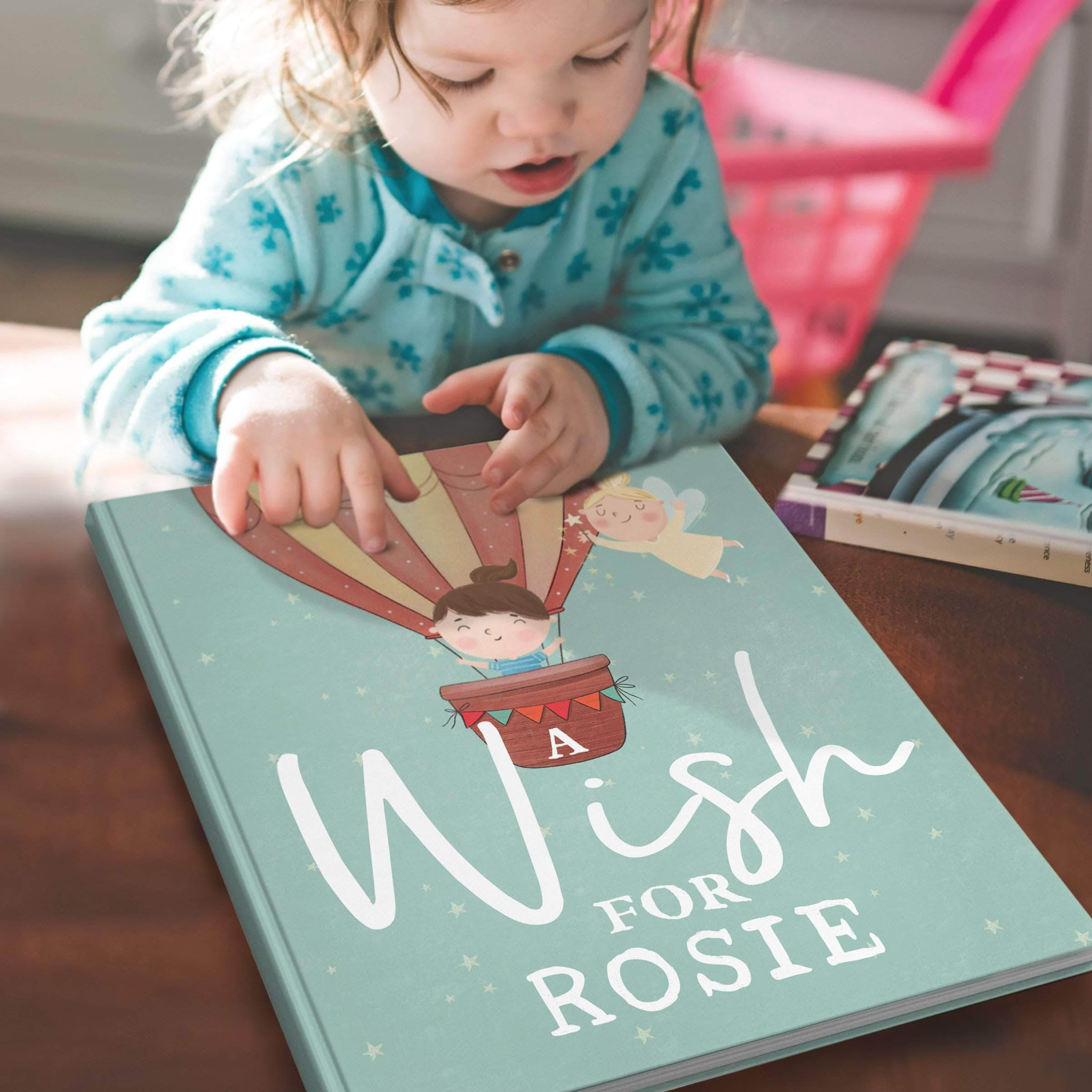 letterfest book Personalised Wish Book For Baby Or Child