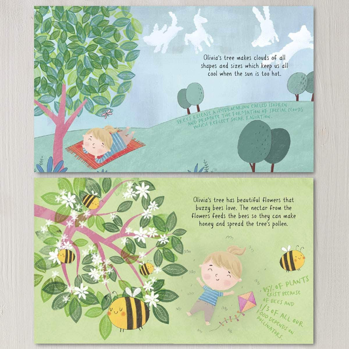 Letterfest.com book Plant A Tree Personalised Story Book
