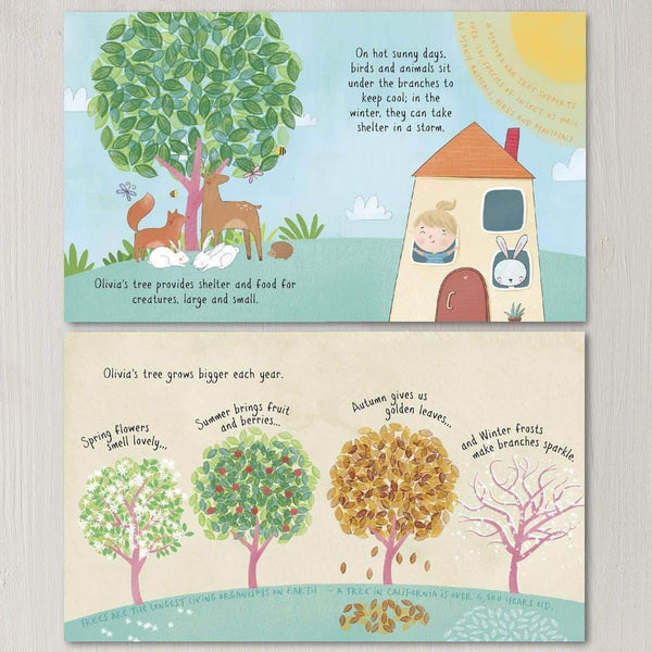 letterfest book Plant A Tree Personalised Story Book