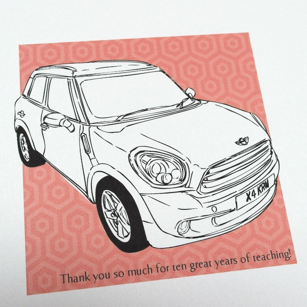 letterfest illustration The Story Of My Cars Illustration