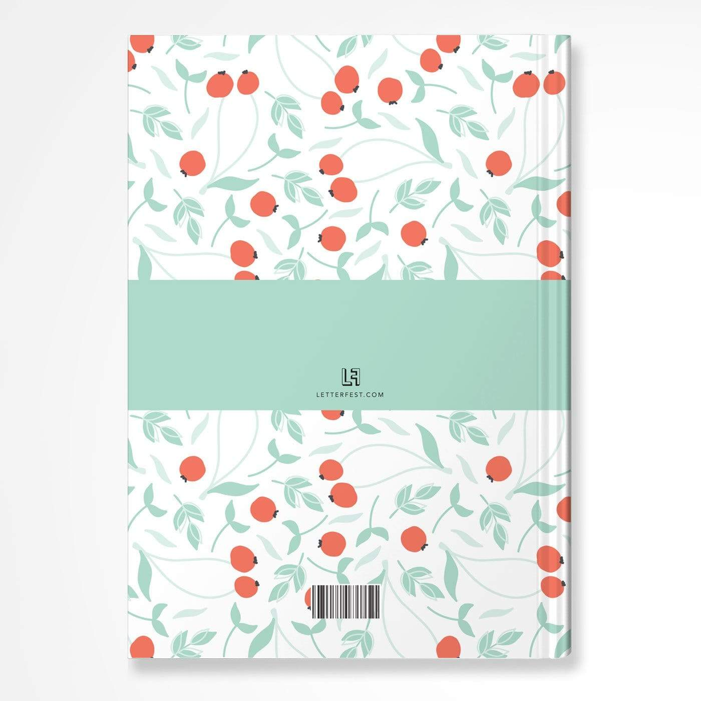 letterfest notebook Bold Berry