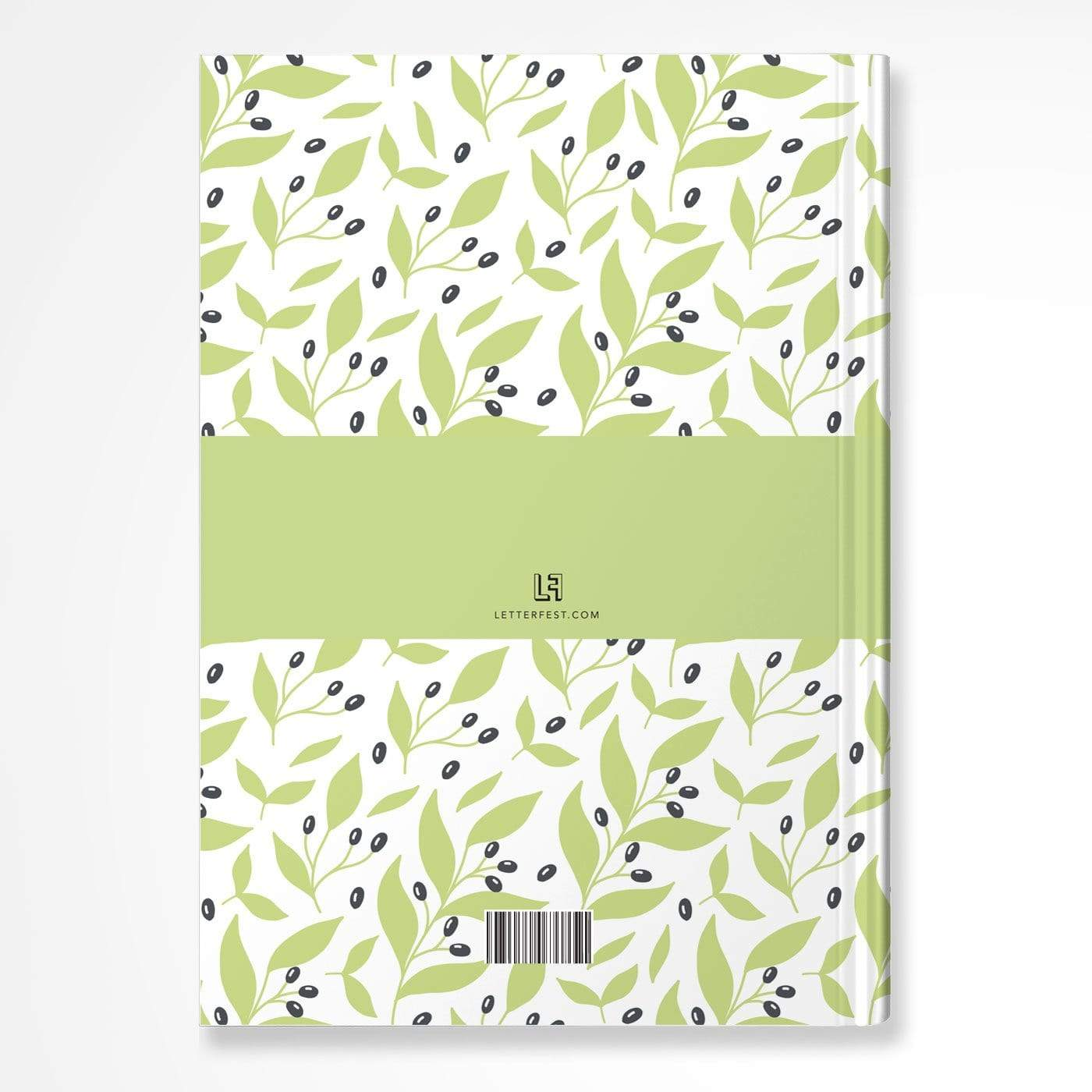 letterfest notebook Bold Leaf