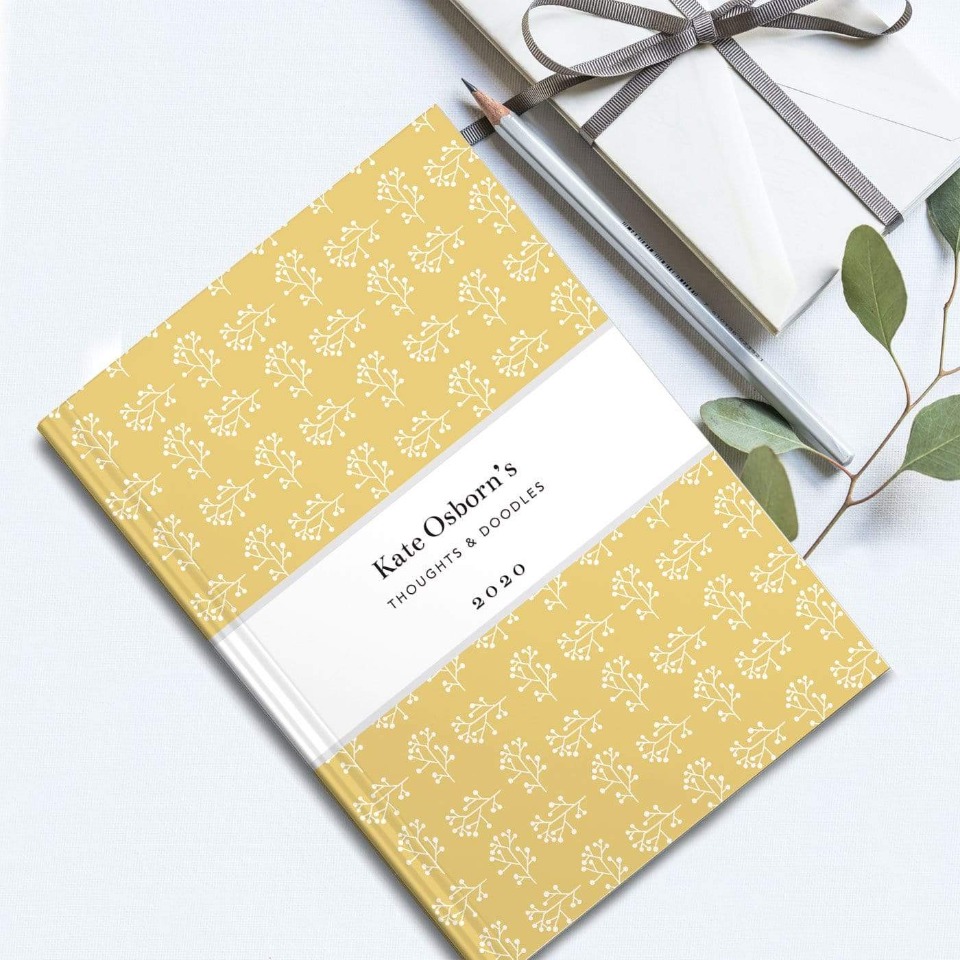 letterfest notebook Branch Yellow