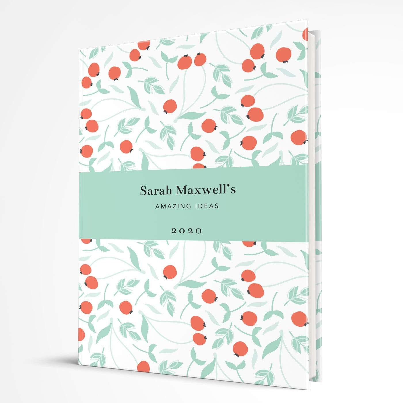 letterfest notebook Hardcover Bold Berry