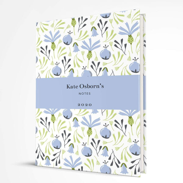 letterfest notebook Hardcover Bold Thistle