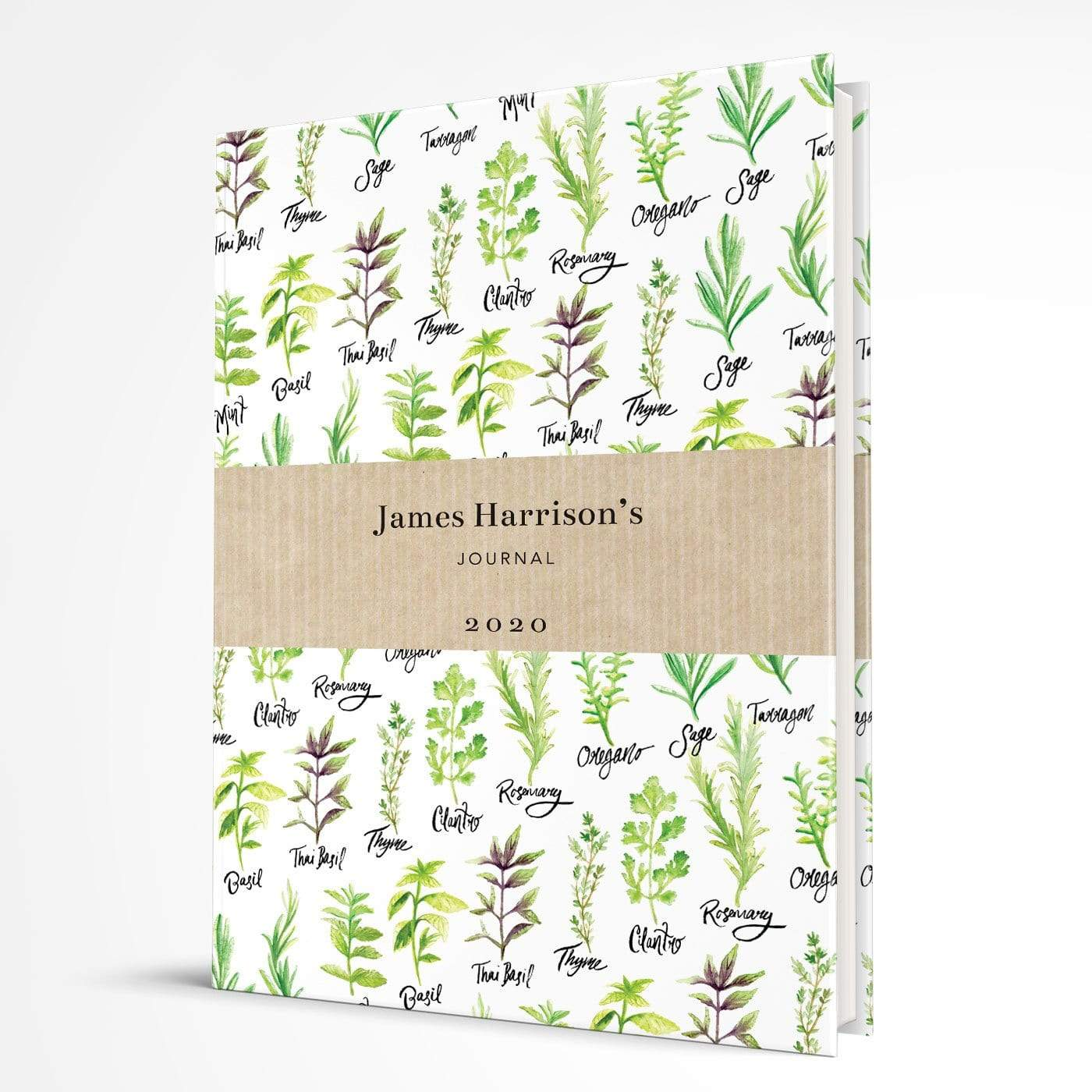 letterfest notebook Hardcover Herb notebook