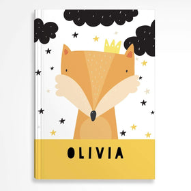 letterfest notebook Hardcover Kids Fox