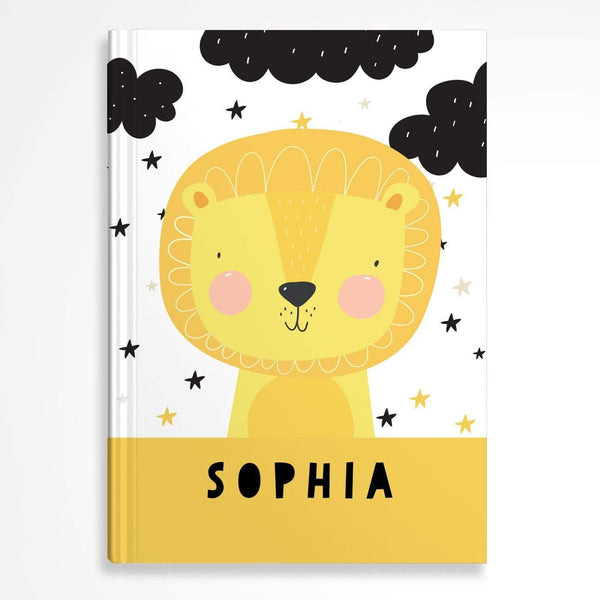 letterfest notebook Hardcover Kids Lion