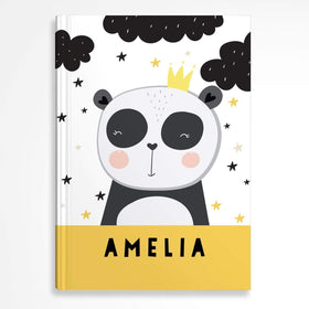 letterfest notebook Hardcover Kids Panda