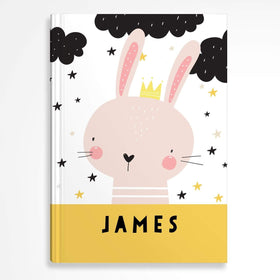 letterfest notebook Hardcover Kids Rabbit