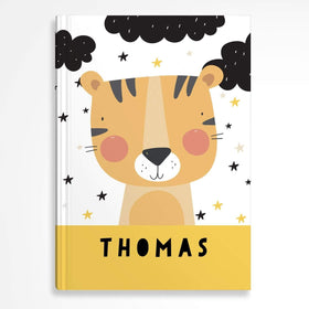 letterfest notebook Hardcover Kids Tiger