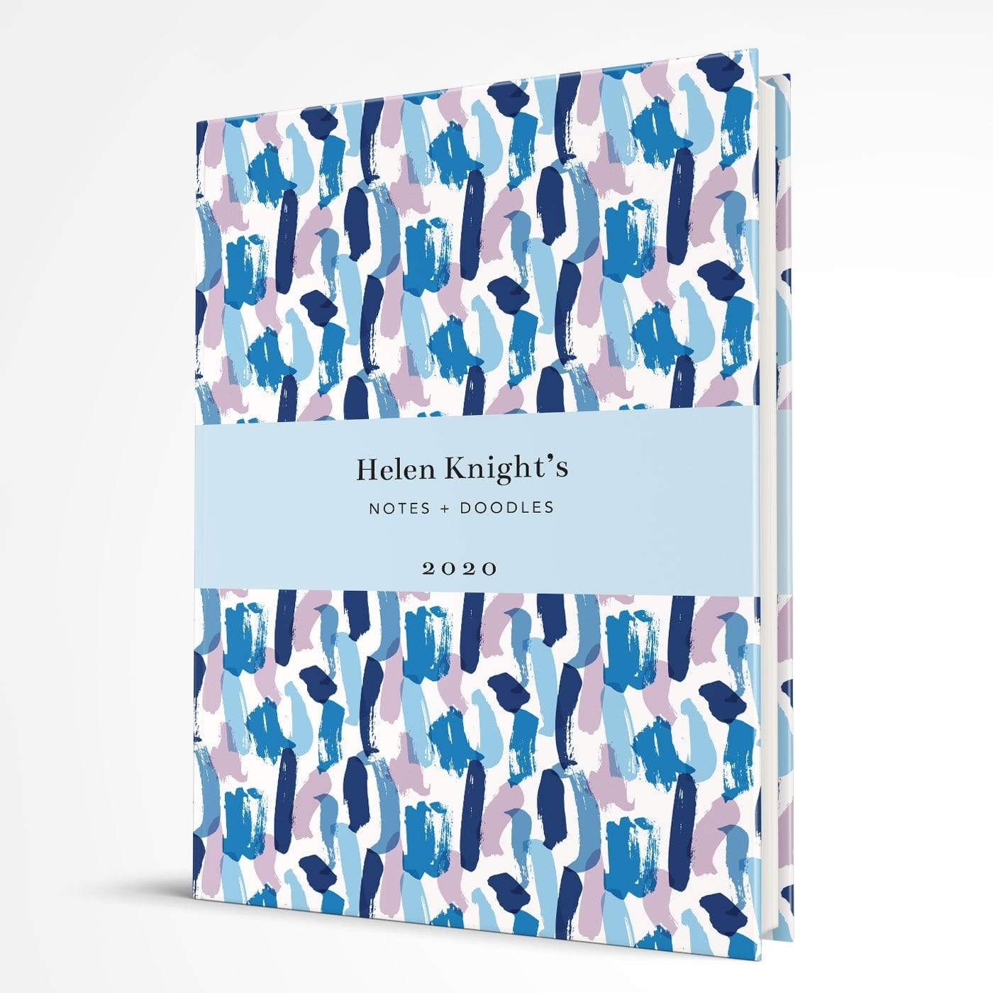 letterfest notebook Hardcover Splash Blue