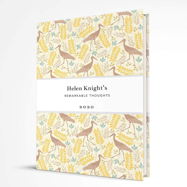 letterfest notebook Hardcover Yellow Bird