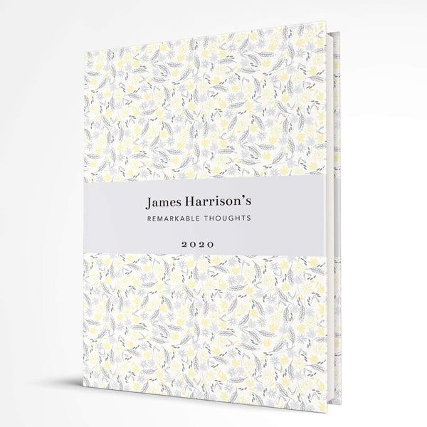 letterfest notebook Hardcover Yellow Meadow