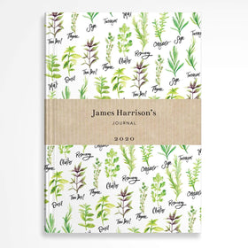 letterfest notebook Herb notebook