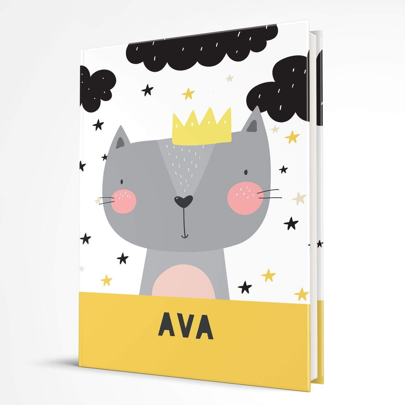 letterfest notebook Kids Cat