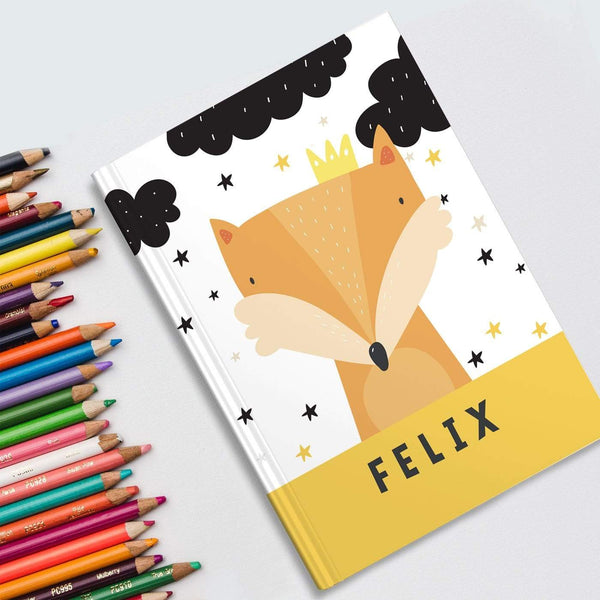 letterfest notebook Kids Lion
