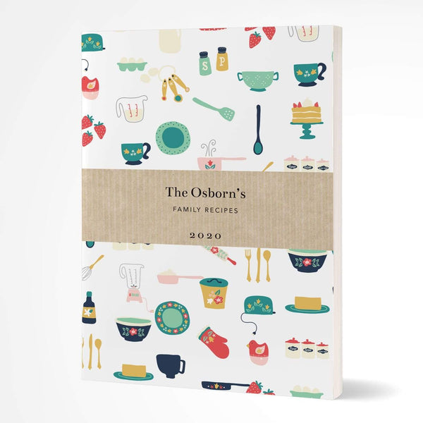 letterfest notebook Softcover Baking Folk