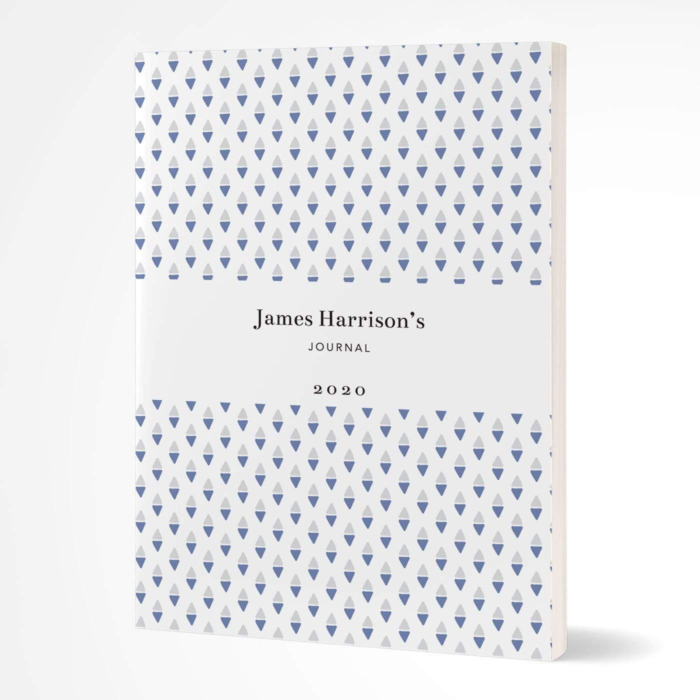 letterfest notebook Softcover Blue Dotty