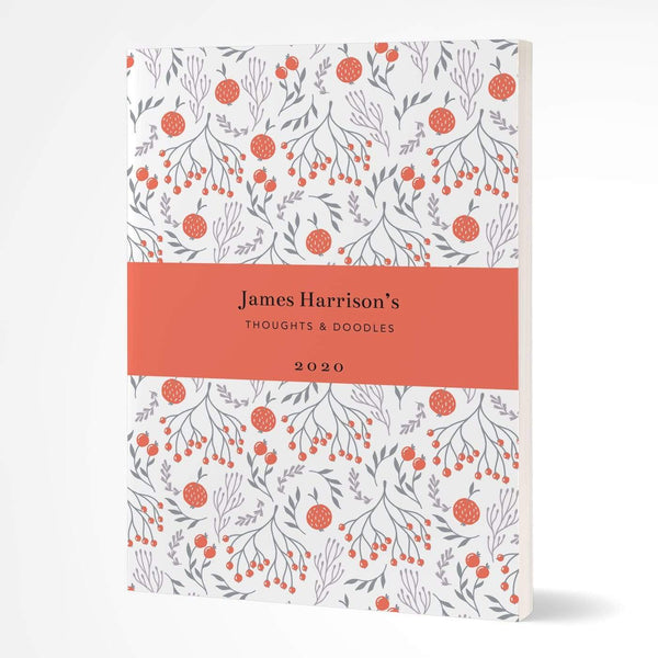 letterfest notebook Softcover Bold Fruit