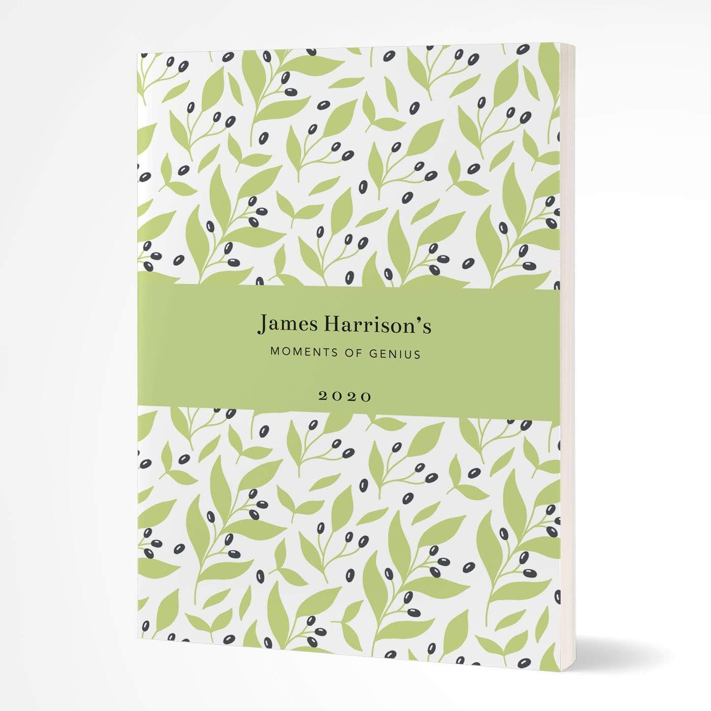 letterfest notebook Softcover Bold Leaf