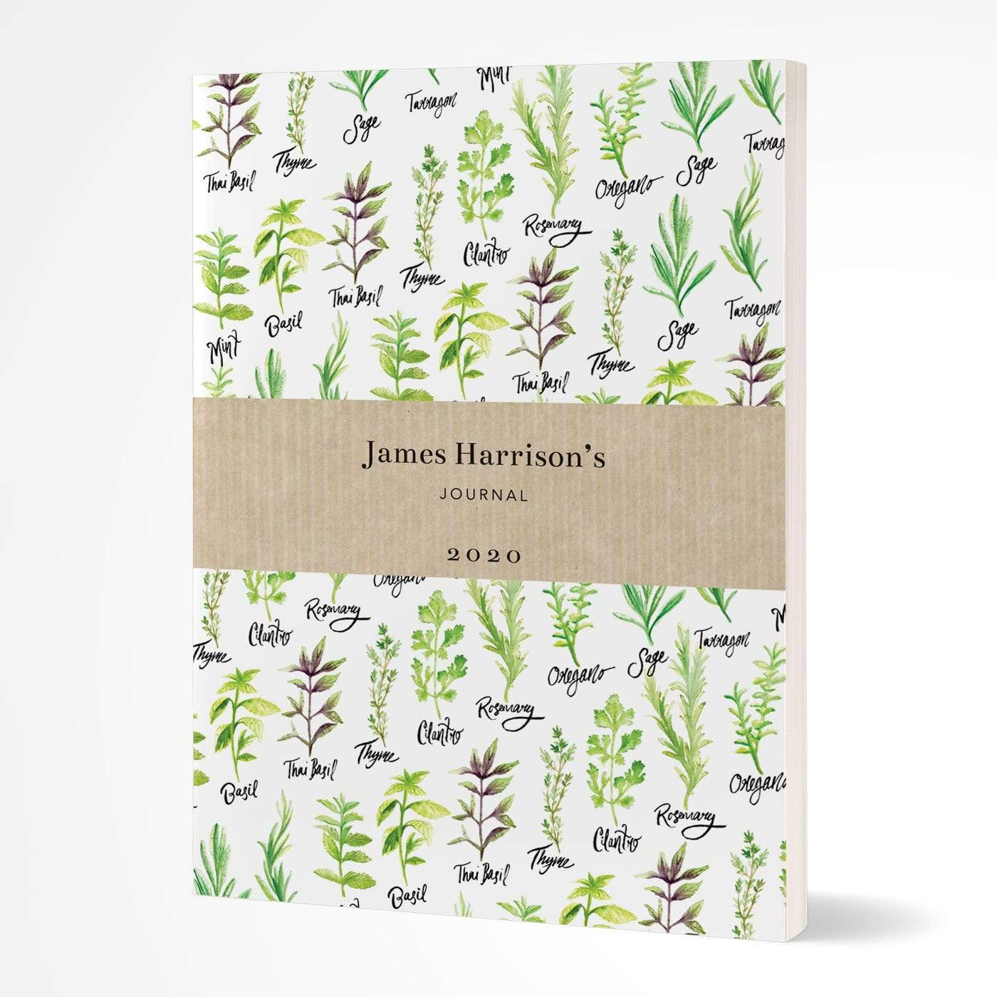 letterfest notebook Softcover Herb notebook