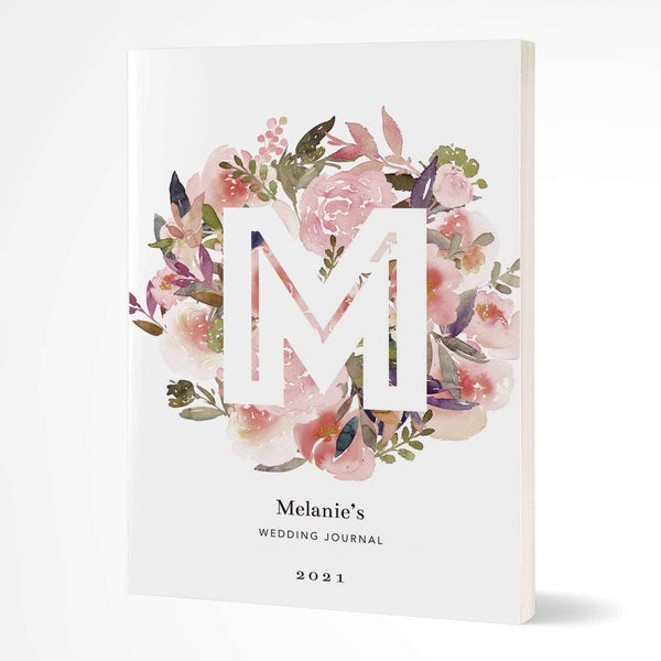 letterfest notebook Softcover Letter Posy Notebook