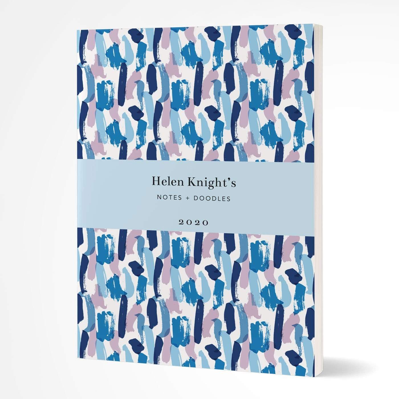 letterfest notebook Softcover Splash Blue