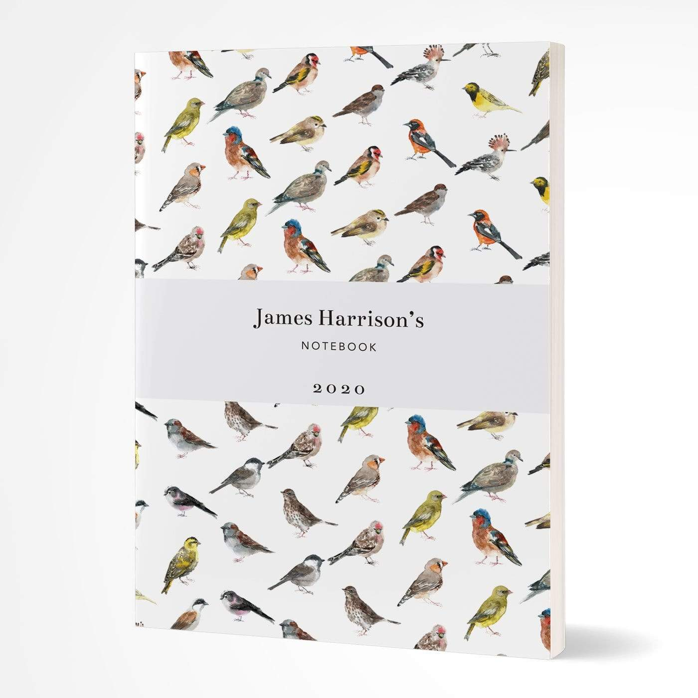 letterfest notebook Softcover Watercolour Birds