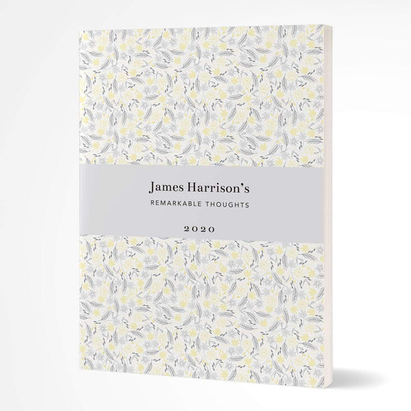 letterfest notebook Softcover Yellow Meadow