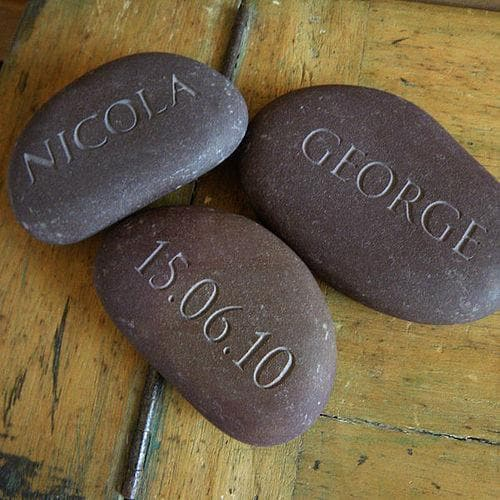 letterfest stone Discounted Sets of Pebbles