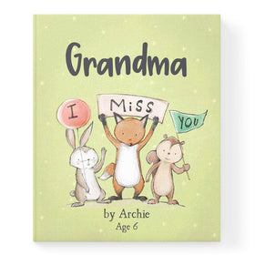 Personalised Missing You Book