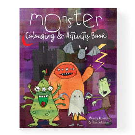 Monster Colouring And Activity Book