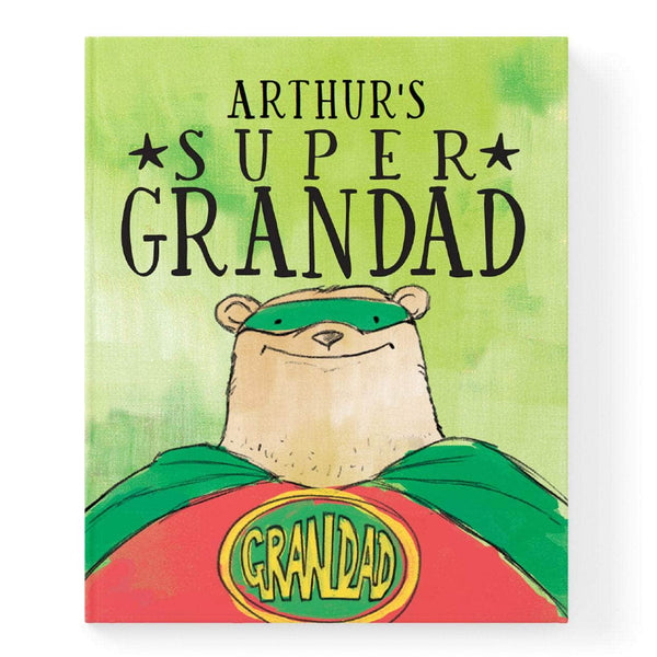 Personalised Super Grandad Book