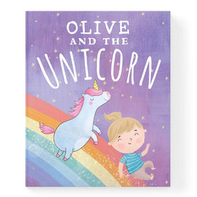 Personalised Unicorn Book For Baby Or Child